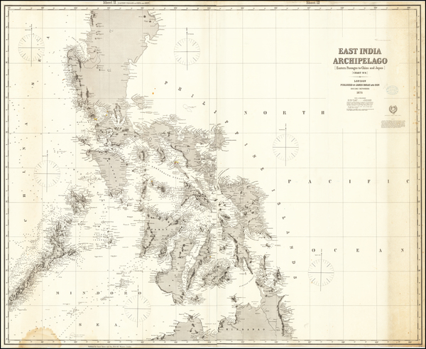 51-Philippines Map By James Imray