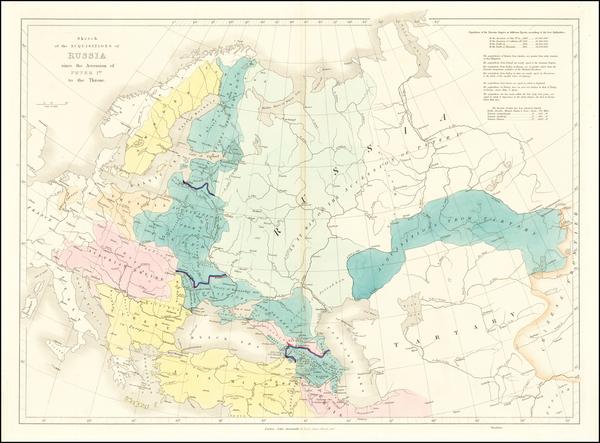 33-Russia Map By John Arrowsmith
