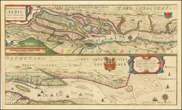 3-Germany Map By Willem Janszoon Blaeu