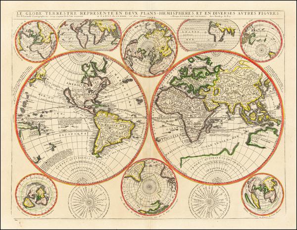 21-World Map By Jean-Baptiste Nolin
