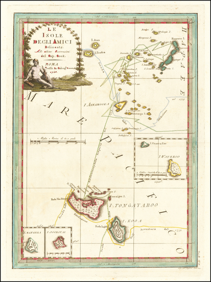 29-Other Pacific Islands Map By Giovanni Maria Cassini