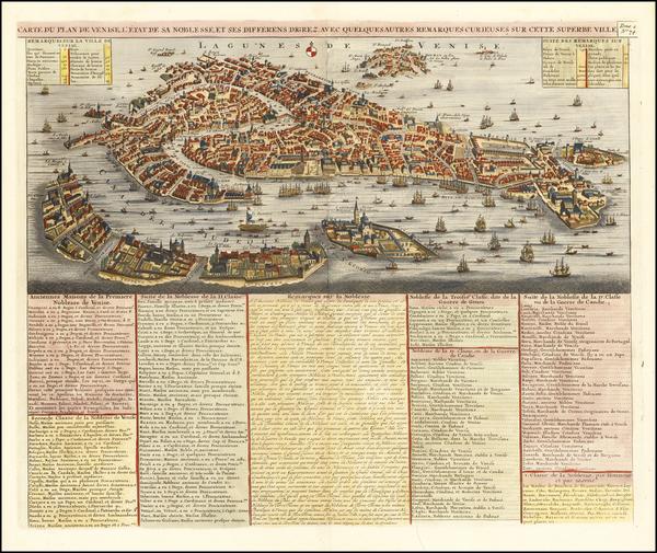 61-Venice Map By Henri Chatelain