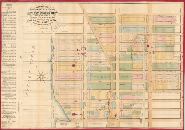 38-New York City Map By John Bute Holmes