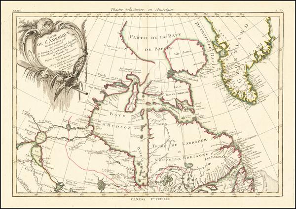 99-Canada Map By Rigobert Bonne