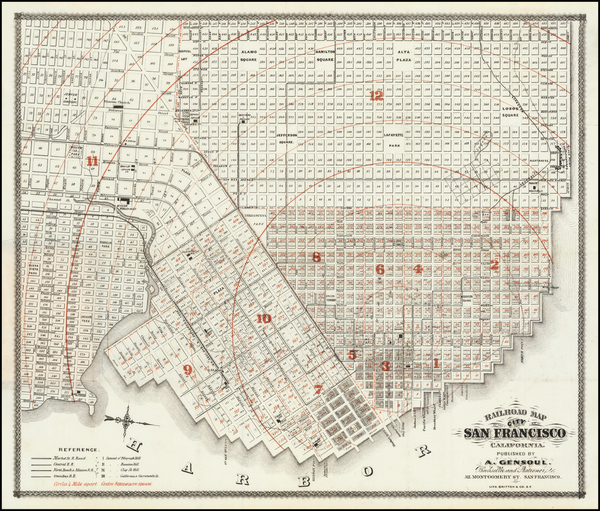 96-San Francisco Map By Britton & Co.