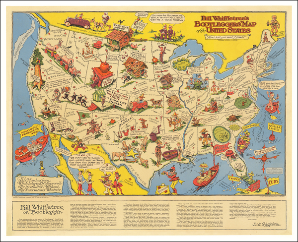 2-United States and Pictorial Maps Map By Edward Gerstell McCandlish