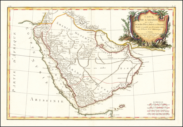 51-Middle East and Arabian Peninsula Map By Jean Lattre