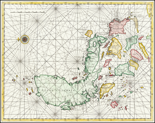 70-Philippines Map By Francois Valentijn