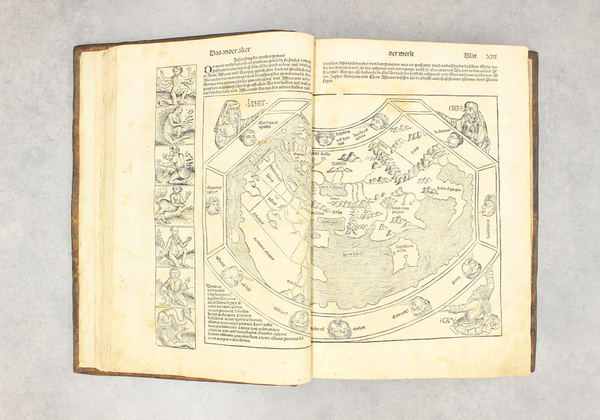 48-Atlases Map By Hartmann Schedel