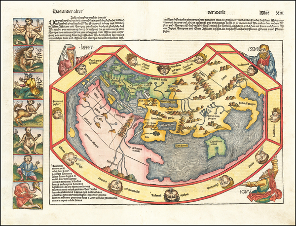 20-World Map By Hartmann Schedel