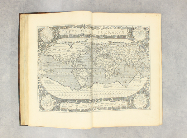 67-Atlases Map By Abraham Ortelius