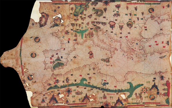 60-Europe, Turkey, Mediterranean, Turkey & Asia Minor, North Africa and Curiosities Map By Ieh