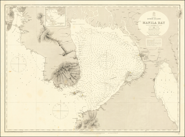 46-Philippines Map By British Admiralty