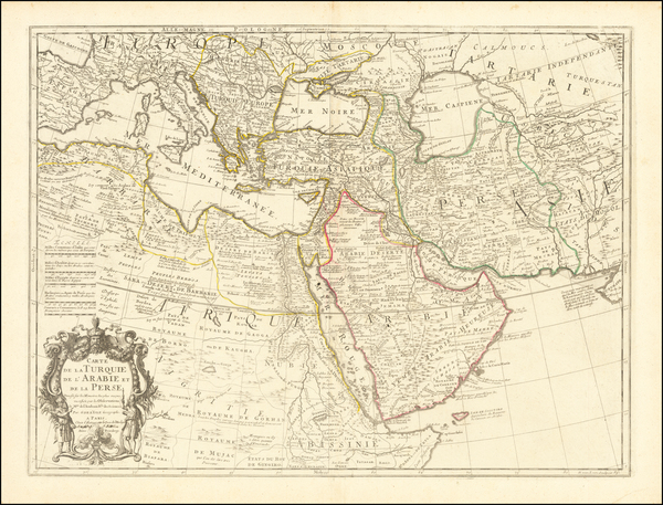 88-Turkey, Mediterranean, Central Asia & Caucasus, Middle East and Turkey & Asia Minor Map
