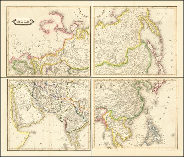59-Asia Map By Daniel Lizars