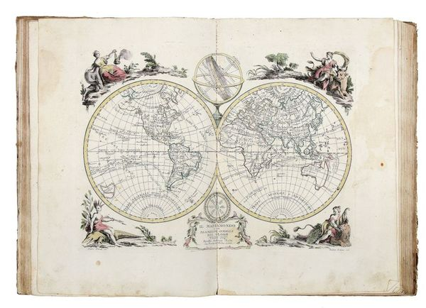83-Atlases Map By Antonio Zatta