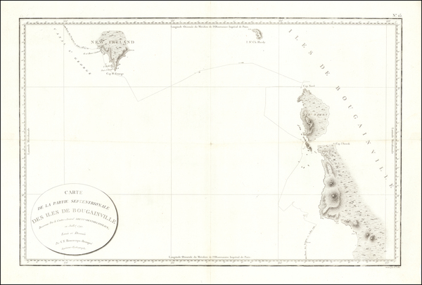 51-Other Pacific Islands Map By Antoine Brun D'Entrecasteaux