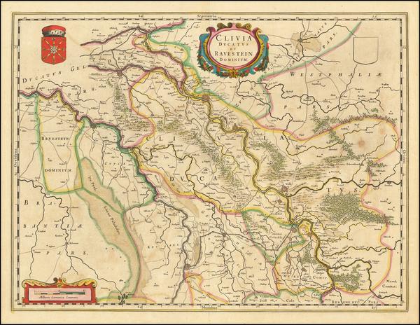 58-Mitteldeutschland Map By Willem Janszoon Blaeu