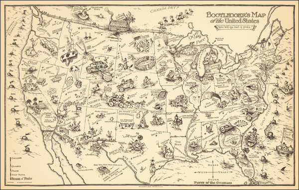 98-United States and Pictorial Maps Map By Edward Gerstell McCandlish