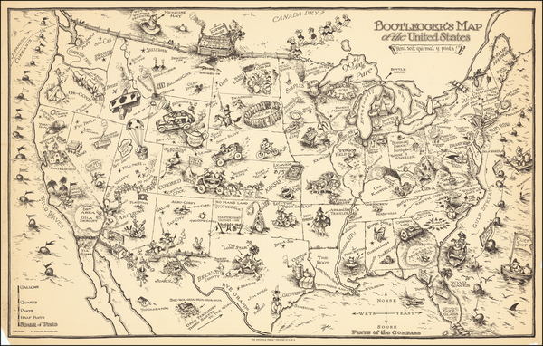 50-United States and Pictorial Maps Map By Edward Gerstell McCandlish