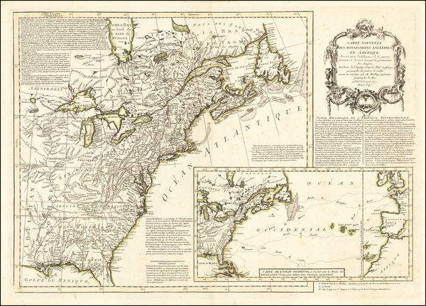 3-United States Map By Maurille Antoine Moithey