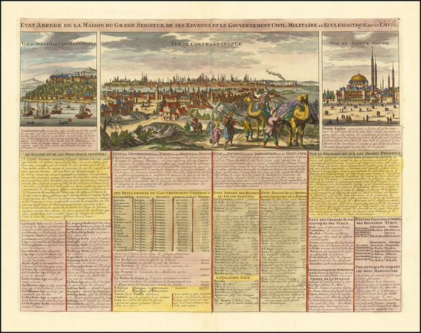 82-Turkey and Turkey & Asia Minor Map By Henri Chatelain