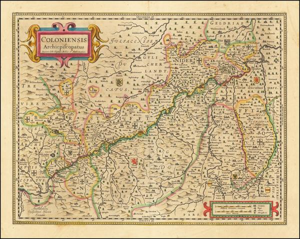 34-Mitteldeutschland Map By Willem Janszoon Blaeu
