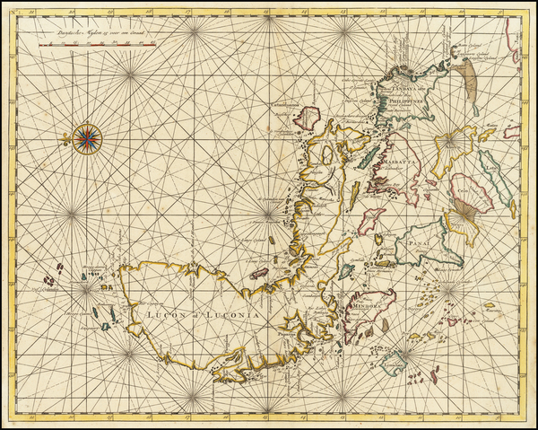 3-Philippines Map By Francois Valentijn