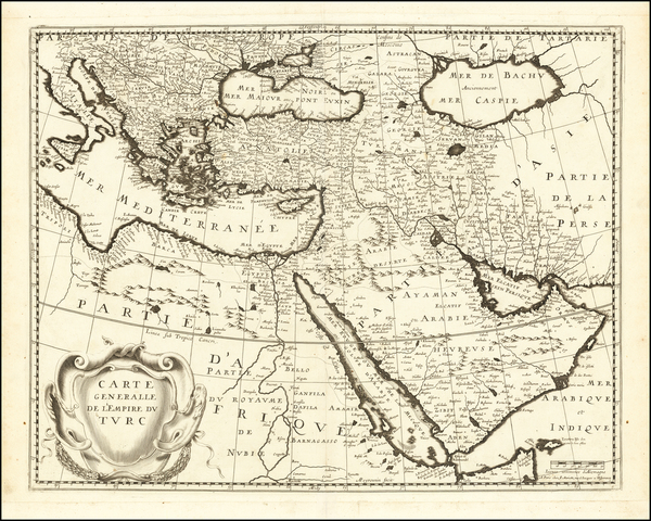 13-Turkey, Central Asia & Caucasus, Middle East and Turkey & Asia Minor Map By Pierre Mari