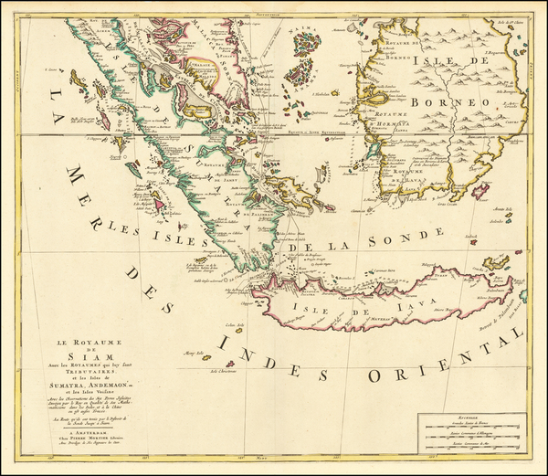 55-Southeast Asia, Singapore and Indonesia Map By Pieter Mortier