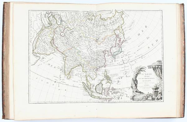 75-Atlases Map By Jean Lattre  &  J.T. Herrisant