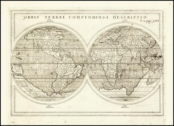 94-World Map By Giuseppe Rosaccio
