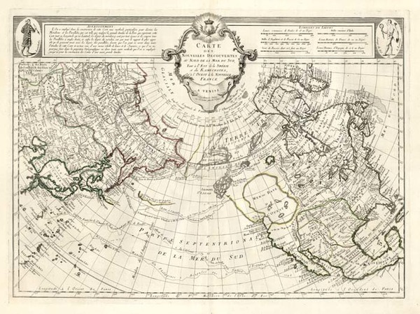 38-Alaska, North America, Asia and Asia Map By Paolo Santini