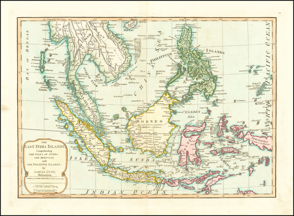 69-China, Southeast Asia, Philippines and Indonesia Map By Samuel Dunn