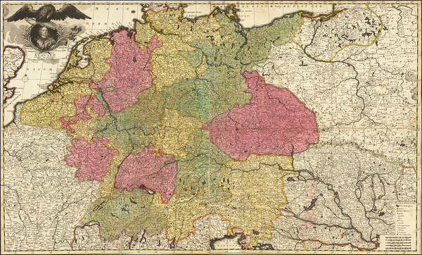 26-Germany, Central & Eastern Europe, Poland and Baltic Countries Map By Peter Schenk