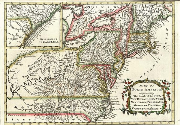 40-New England, Mid-Atlantic and Midwest Map By Alexander Hogg