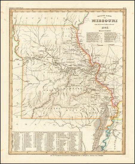 47-Missouri Map By Joseph Meyer