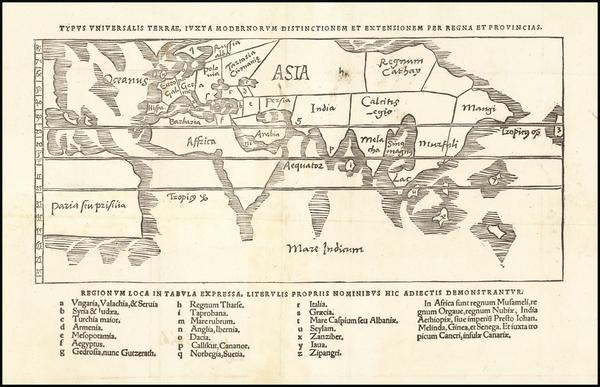 71-World Map By Gregor Reisch