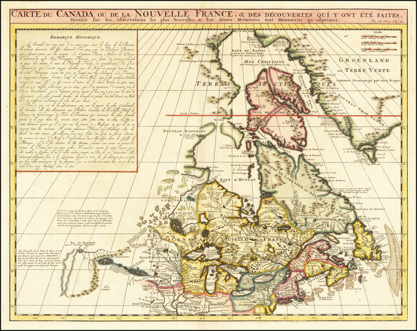 32-New England, Midwest and Canada Map By Henri Chatelain