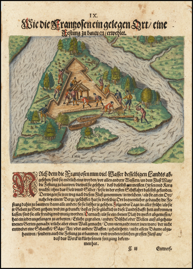 30-Florida Map By Theodor De Bry