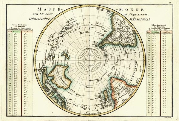 3-World, Southern Hemisphere, Polar Maps, Australia & Oceania and Oceania Map By Rigobert Bon