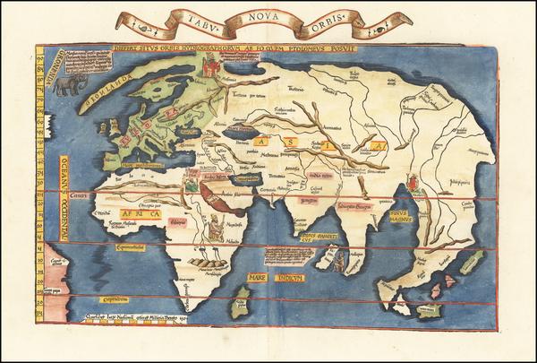 67-World Map By Lorenz Fries