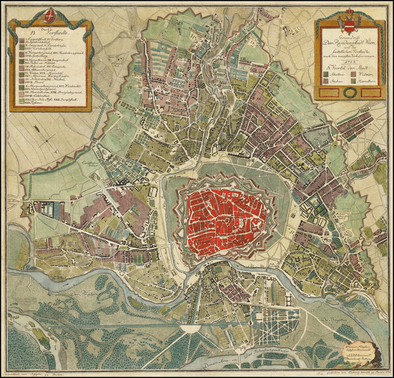 3-Austria Map By Ludwig Schmidt