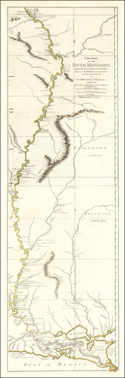 63-South, Midwest and Plains Map By Robert Sayer / Lieutenant John Ross