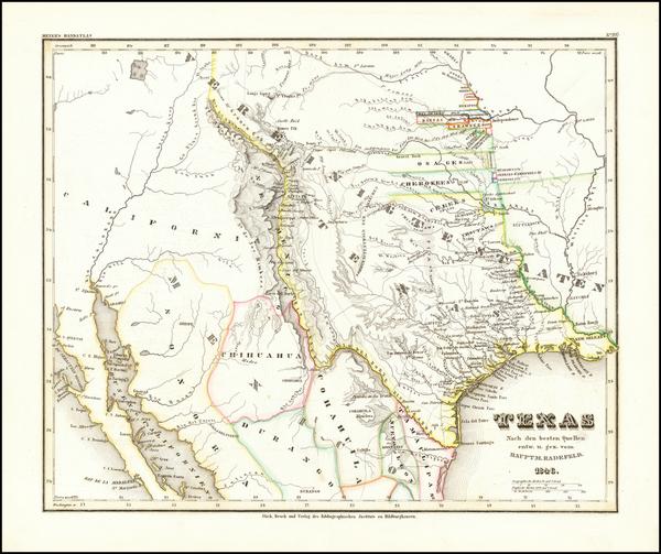 13-Texas, Plains, Oklahoma & Indian Territory, Southwest, Colorado, New Mexico and Colorado Ma