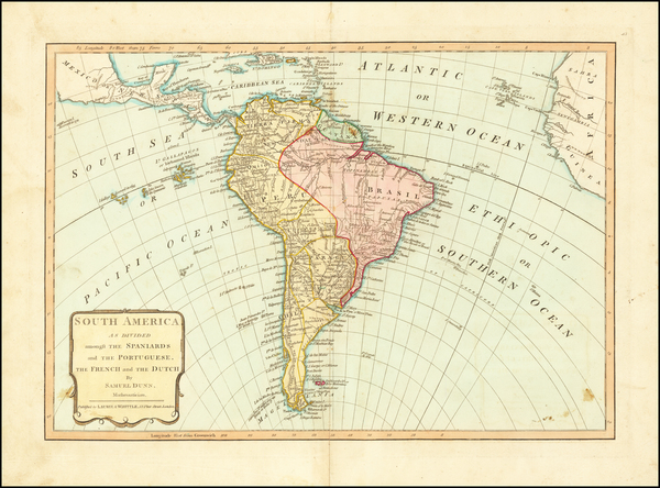 21-South America Map By Samuel Dunn