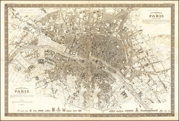 88-Paris Map By Joseph Meyer