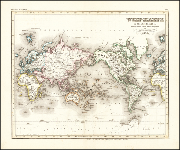 17-World Map By Joseph Meyer