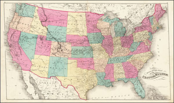31-United States Map By H.H. Lloyd