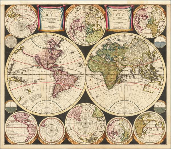 3-World Map By Carel Allard